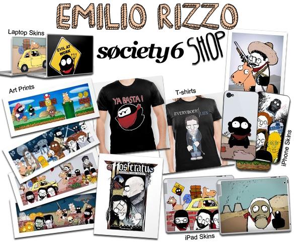 http://society6.com/emiliorizzo