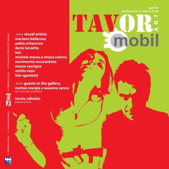 Tavor Art Mobil, route n.4 emilio rizzo