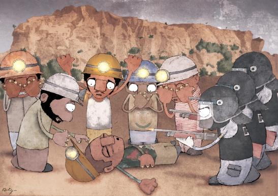 emilio rizzo minatori sud africa