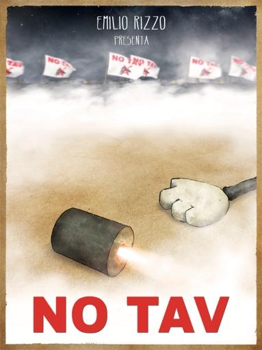 no tav 2012 poster emilio rizzo